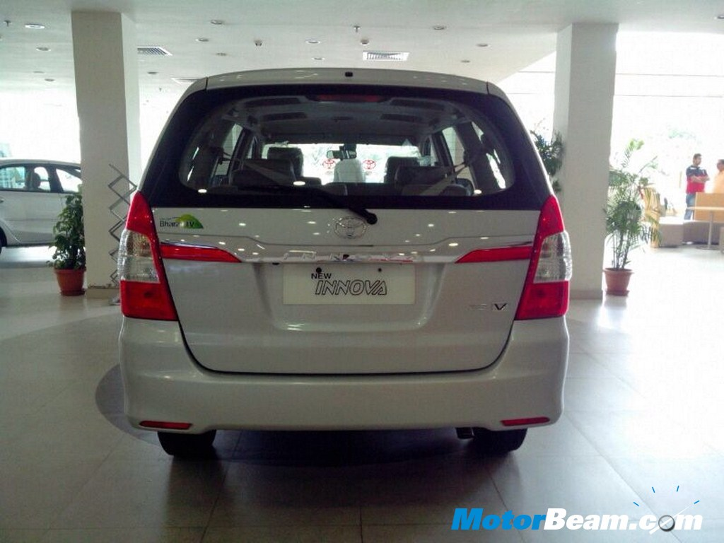 2014 Toyota Innova Facelift Launched In India | MotorBeam – Indian