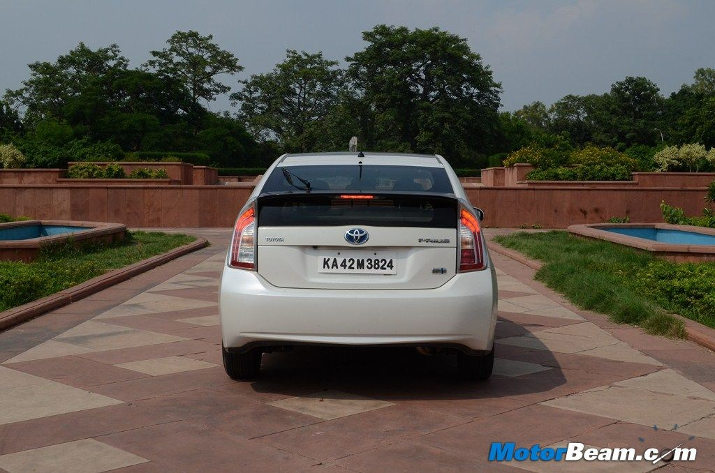 Toyota Prius Test Drive Rear