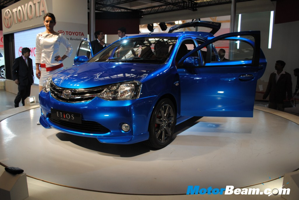 The Etios hatchback, which looks near to production is Toyota's foray into
