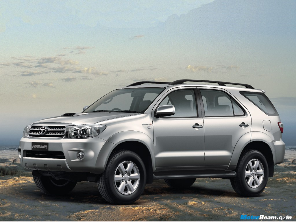 the fortuner from 1st july 2010 the toyota fortuner was launched last