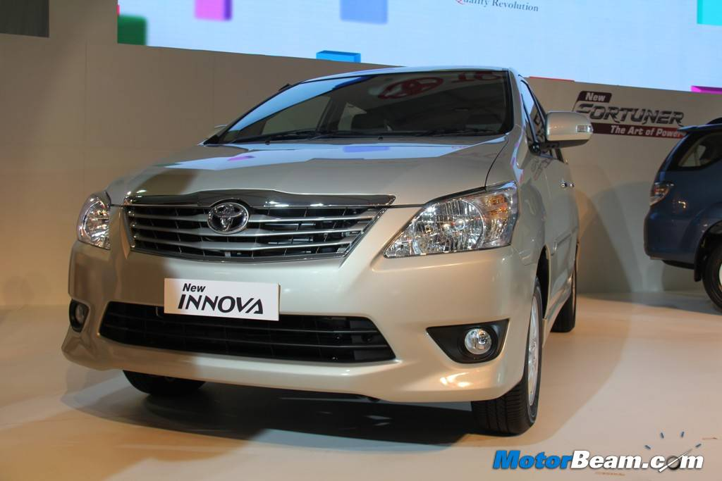 Toyota Innova 2012 Launch