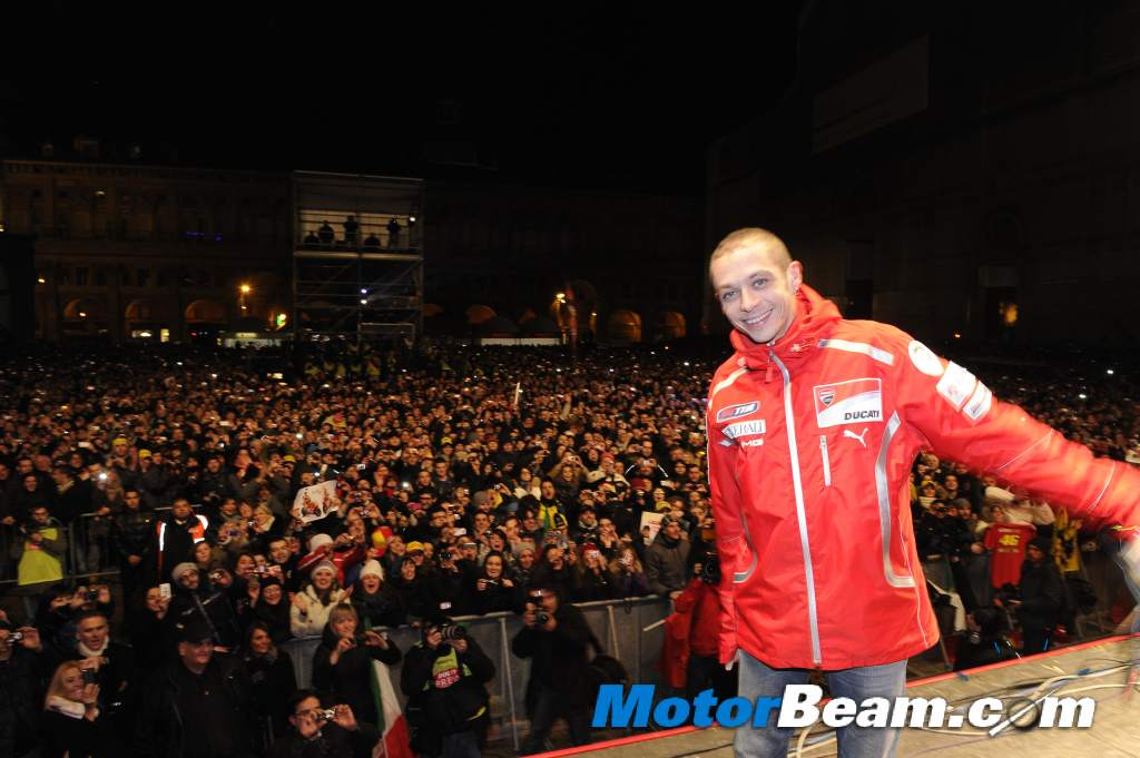 valentino rossi ducati pics. to the Ducati factory in