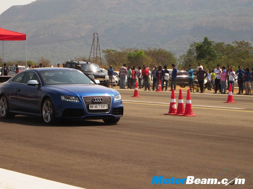 Valley Run Audi RS5 front