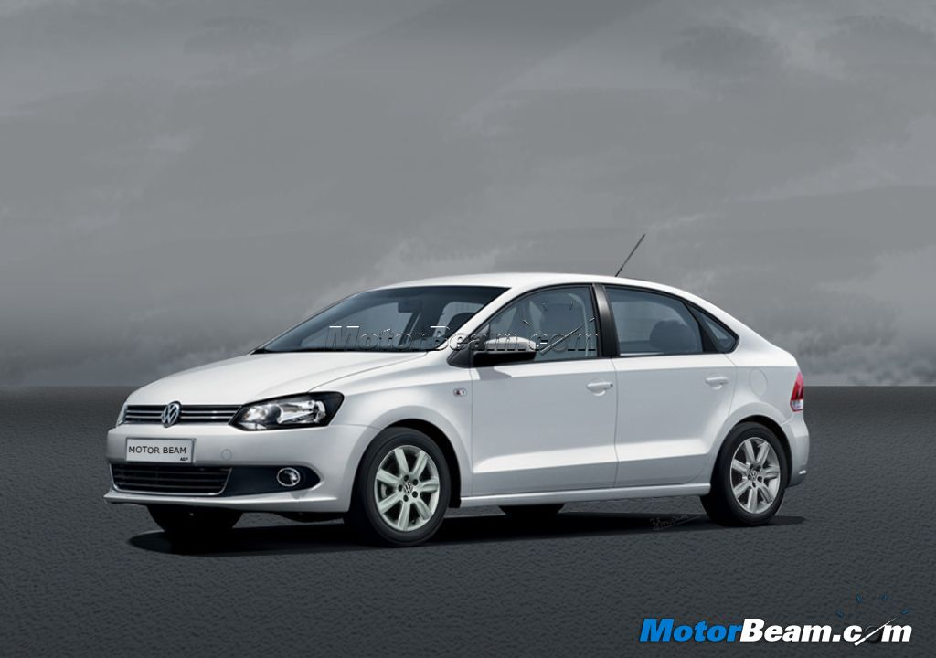 2014 Volkswagen Vento Compact Sedan Rendered