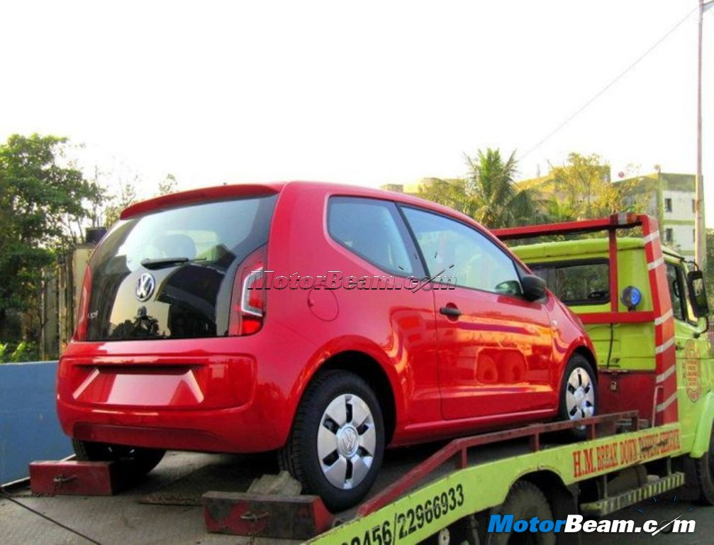 Volkswagen Up! Spied India