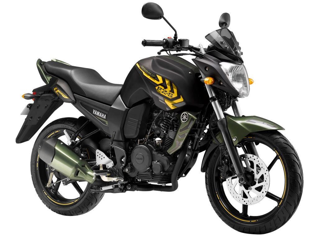 Yamaha FZ S Battle Green