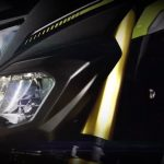 Yamaha M-Slaz Design Headlight Teaser