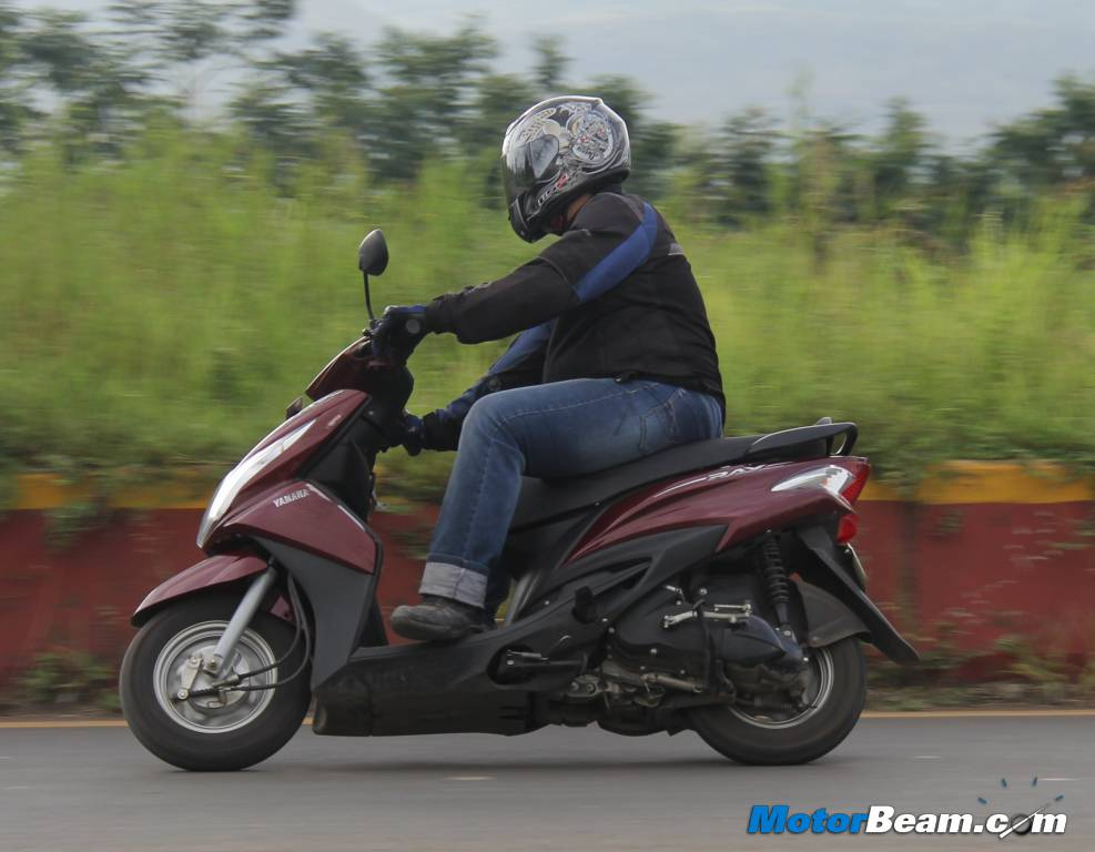 Yamaha Ray High Speed Stability