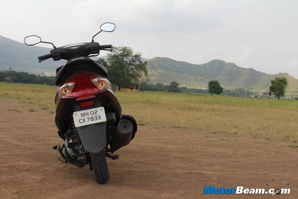 Yamaha Ray India Scooter