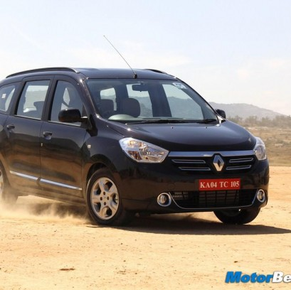 Renault Lodgy Bookings Open In India For Rs. 50,000/-