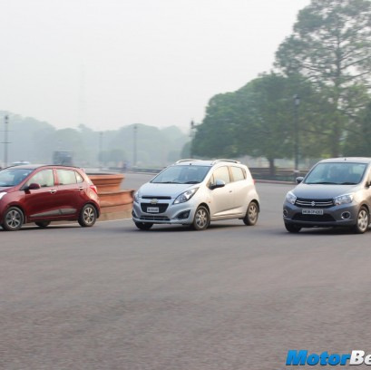 Chevrolet Beat vs Maruti Celerio vs Hyundai Grand i10 Comparison