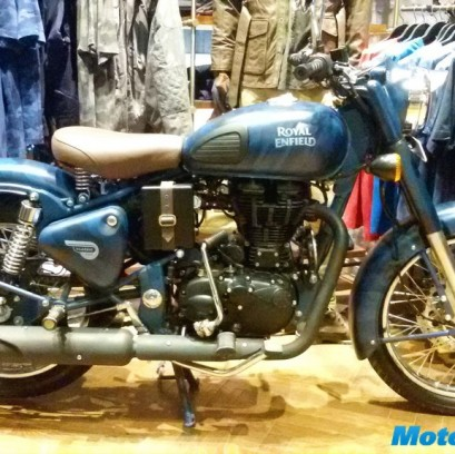Royal Enfield Classic 500 Limited Edition Launch